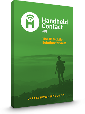 Box Shot of Handheld Contact API Mobile Solution for Act!