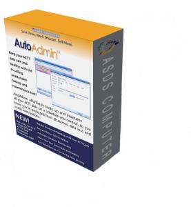 AutoAdmin Box Shot of Act! Backup and Maintenance Software