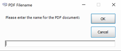 Shows how you can name PDF documents
