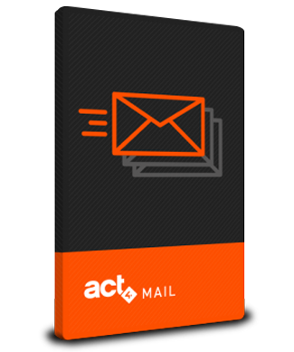 Box shot of Act4Mail Outlook Integration for Act!