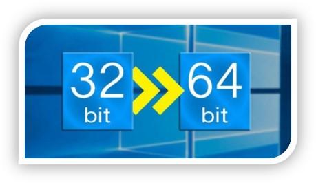 32 bit to 64 bit